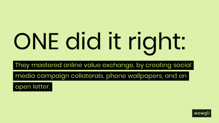 Online value exchange for NGOs